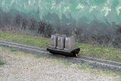 N Scale 20' Mill Car w/ 3 Ingot Molds