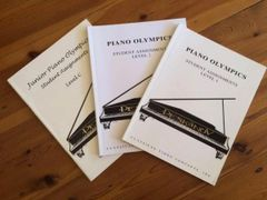 Piano Olympics Student Assignments Package