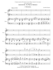Piano Concerto No. 16 (Arranged for 2 Pianos) e-Print