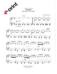 Sonata (Homage to Scarlatti) e-Print