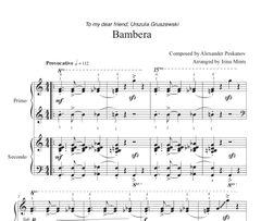 Bambera (1 Piano, 4-Hands), Arranged by Irina Mints