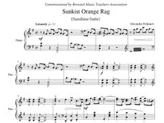 Sunkist Orange Rag (ePrint) - Sunshine Suite