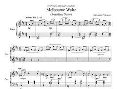Melbourne Waltz (e-Print) - Sunshine Suite