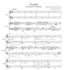 Ninushka (1 Piano, 4-Hands), Arr. by Irina Mints