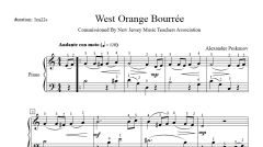 West Orange Bourrée (e-Print)