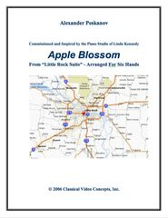 Apple Blossom (1 Piano, 6 Hands) e-Print