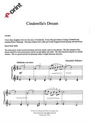 Cinderella's Dream (e-Print)