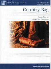 Country Rag (2 Pianos, 4 Hands)