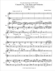 Piano Concerto No. 3 (Arranged for 2 Pianos) e-Print