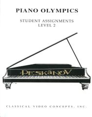 Piano Olympics Student Assignments Level II