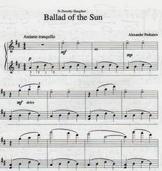Ballad of the Sun (e-Print)