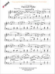Farewell Waltz (e-Print)