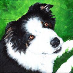 "6""x 6"" Custom Pet Portrait."