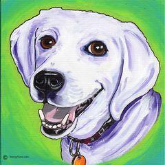 "11""x 14"" Custom Pet Portrait."