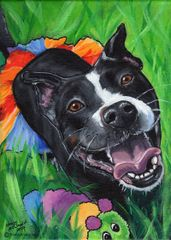 "18""x 24"" Custom Pet Portrait."