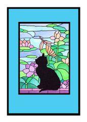 Sympathy card cat