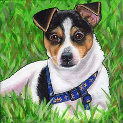 "16""x 20"" Custom Pet Portrait."