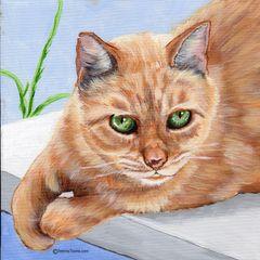 "10""x 10"" Custom Pet Portrait."