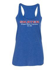 Royal Triblend Racerback Tank Top