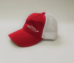 Mesh-Back Corner Logo Hat