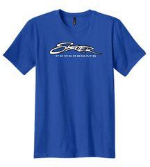 Royal Blue 100% Cotton T-Shirt