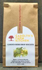 Garden Herb Drop Biscuits