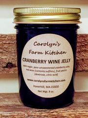 Cranberry Wine Jelly