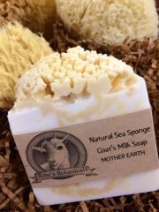 Natural Sea Sponge Goats Milk Soap