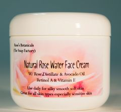 Natural Rose Water Face Cream