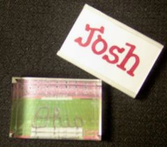College Paperweight-Personalized with College & Name