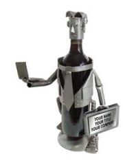 PERSONALIZED MALE EXECUTIVE WINE CADDY