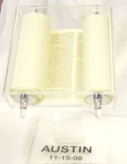 Personalized Torah on Stand