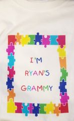 IMPRINTED I'M RYAN'S GRAMMY TEE SHIRT