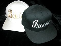Groom Hat-Embroidered