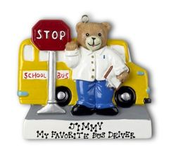 Bus Driver-Personalized Ornament