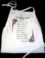 Imprinted Apron-Legendary Mom