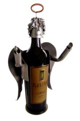 PERSONALIZED ANGEL WINE CADDY