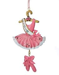 Ballet Dress w Slippers Personalized Ornament