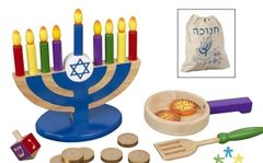 Personalized Wooden Chanukah Set
