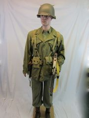 """WWII USMC, Lt. 2nd Marines, """"HERO"""" Wounded Twice, Uniform Group, ID'd -ORIGINAL RARE- SOLD-"""