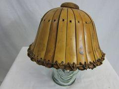 "WWII Japanese Bamboo ""Sun"" Helmet - ORIGINAL RARE -"