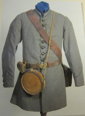 Civil War - Confederate Private Barry Coleman's Infrantry Frock Coat, - ORIGINAL VERY RARE - SOLD