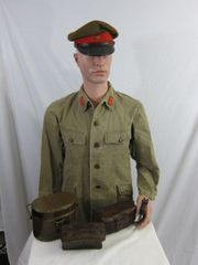 WWII Japanese Enlisted Soldier Grouping - ORIGINAL -