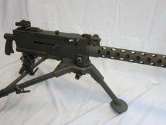 WWII U.S. Browning 1919A4 .30 Caliber Machine gun, Demilled, Non-Firing - ORIGINAL -SOLD