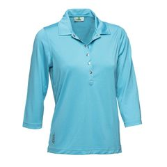 Daily Sports Ladies Mindy 3Quarter Sleeve Polo Shirt 643/107