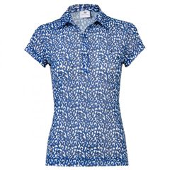 Daily Sports Ladies Bella Mesh Cap Sleeve Polo Shirt - 943/154