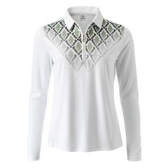 Daily Sports Ladies Ada Long Sleeve Polo Shirt - 863/113