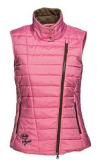 Daily Sports Ladies Livia Quilted Wind and Water Repellant Full Zip Gilet - 563/444