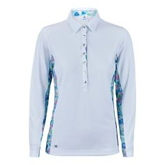 Daily Sports Ladies Inez Long Sleeved Polo Shirt - 843-153