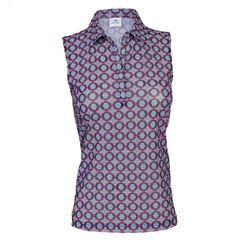 Daily Sports Ladies Moa Mesh Sleeveless Polo Shirt - 943/130